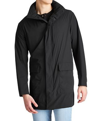 Emporio Armani Travel Essential Packable Water-Repellent Jacket