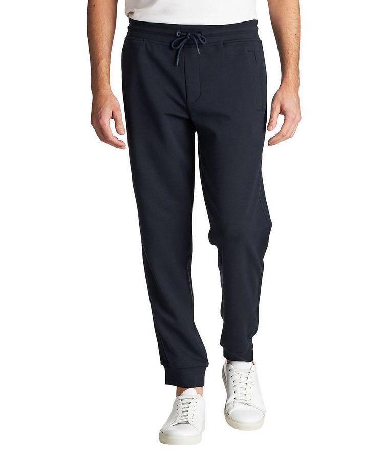 Pantalon sport en tissu extensible image 0