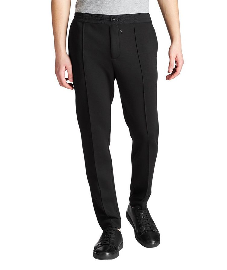 Stretch-Blend Track Pants image 0