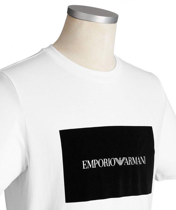 Appliquéd Cotton T-Shirt image 1