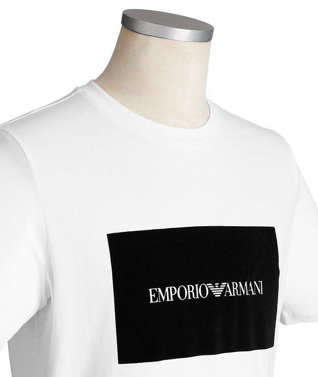 Appliquéd Cotton T-Shirt picture 2