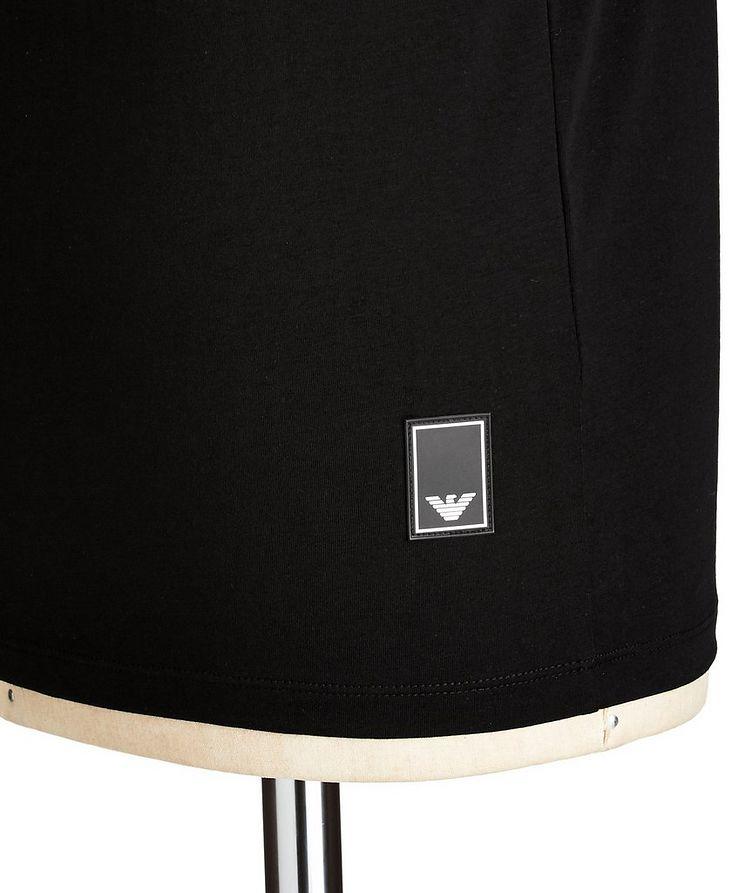 Travel Essentials Packable Stretch-Cotton V-Neck T-Shirt image 1