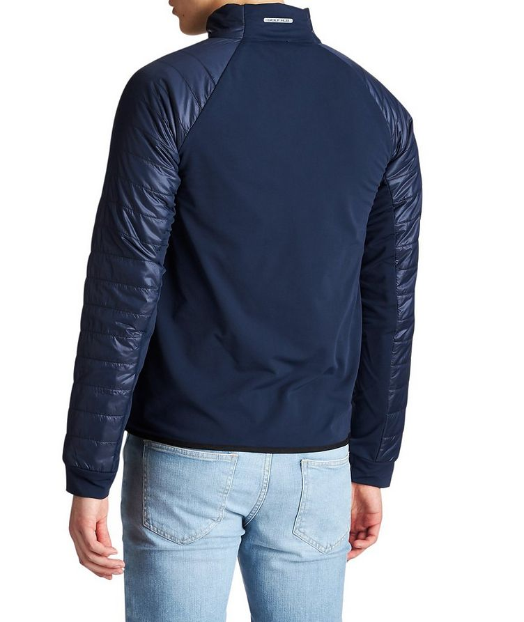 Stretch-Blend Bomber Jacket image 1