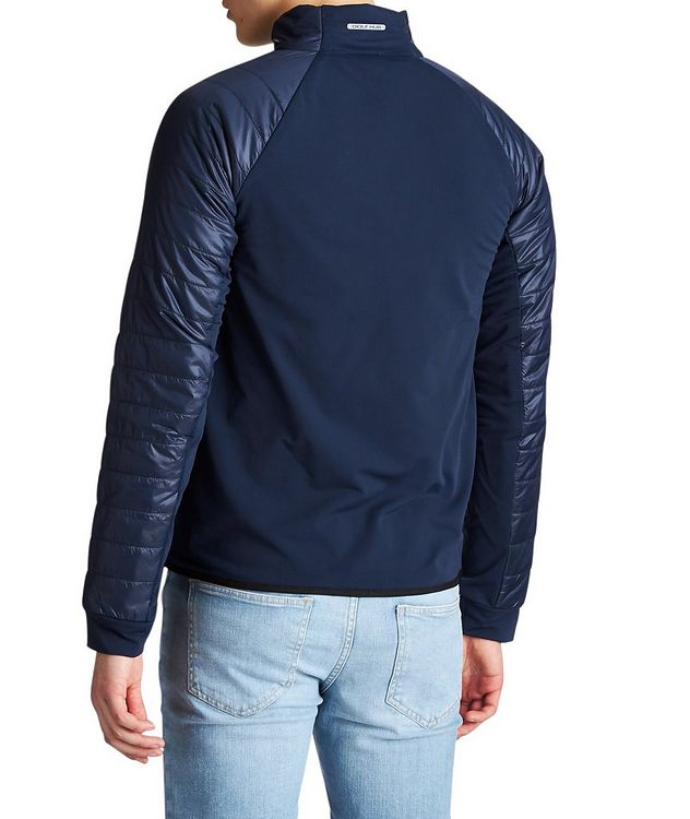 Stretch-Blend Bomber Jacket picture 2