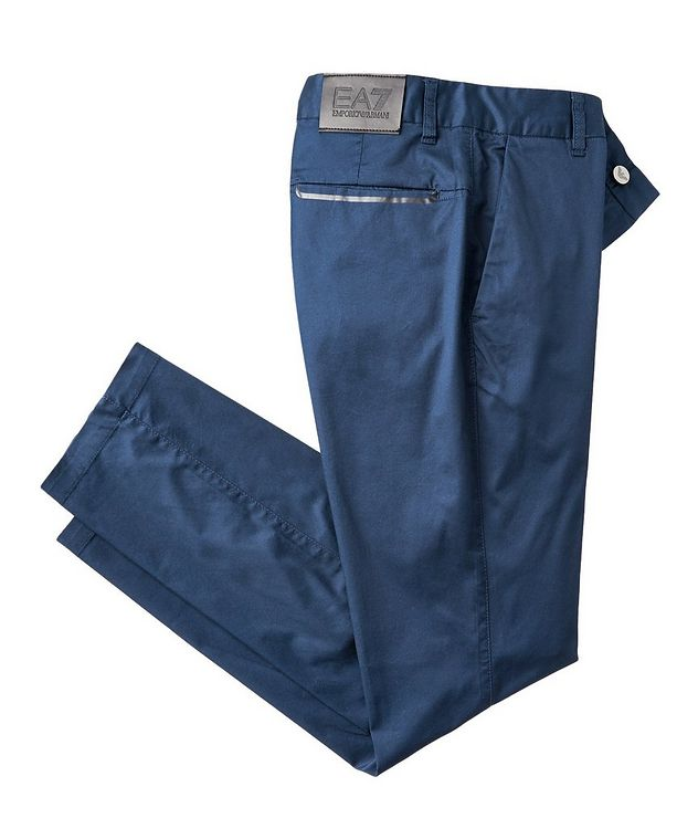 Stretch-Cotton Chinos picture 1