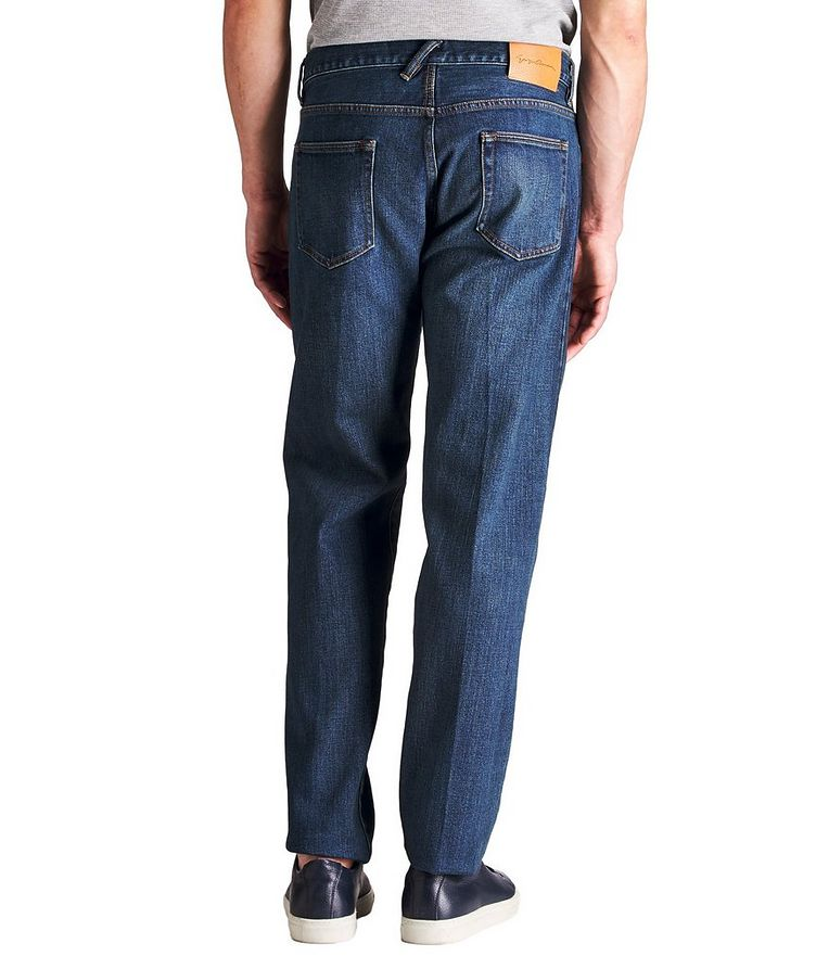 Straight Fit Selvedge Jeans image 1
