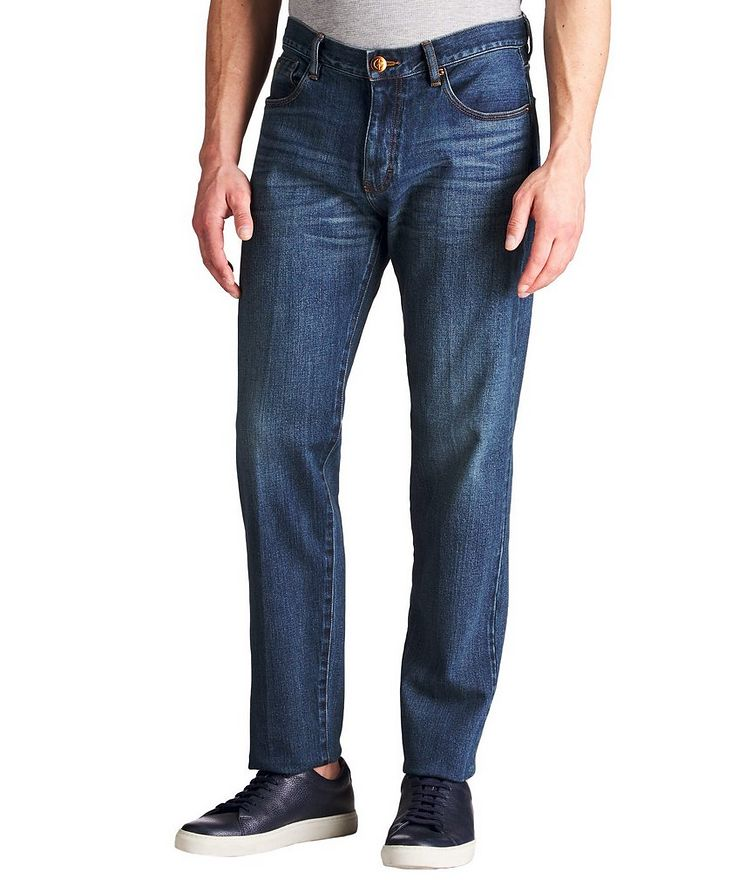 Straight Fit Selvedge Jeans image 0