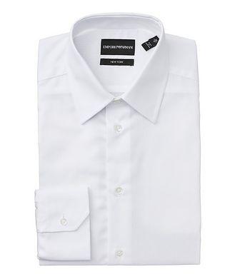 Emporio Armani Slim Fit Cotton Dress Shirt