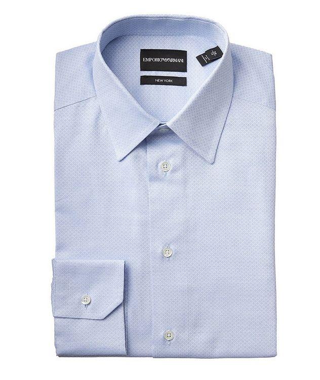 Slim Fit Printed Dress Shirt picture 1