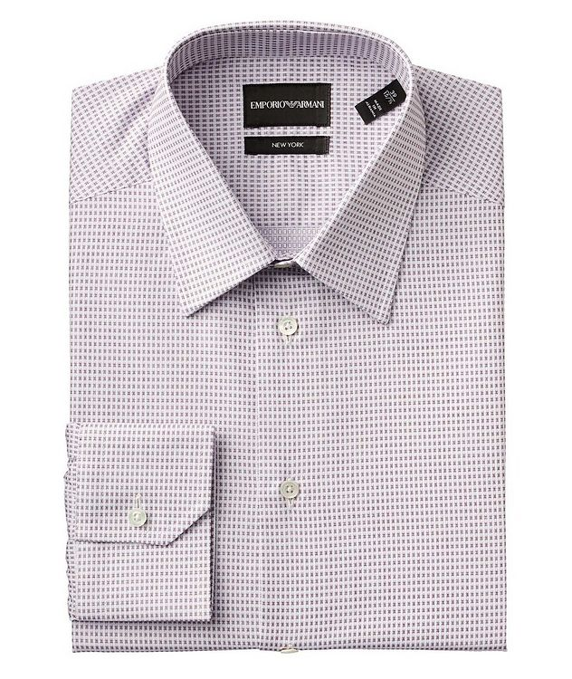 Slim Fit Stretch-Cotton Dress Shirt picture 1