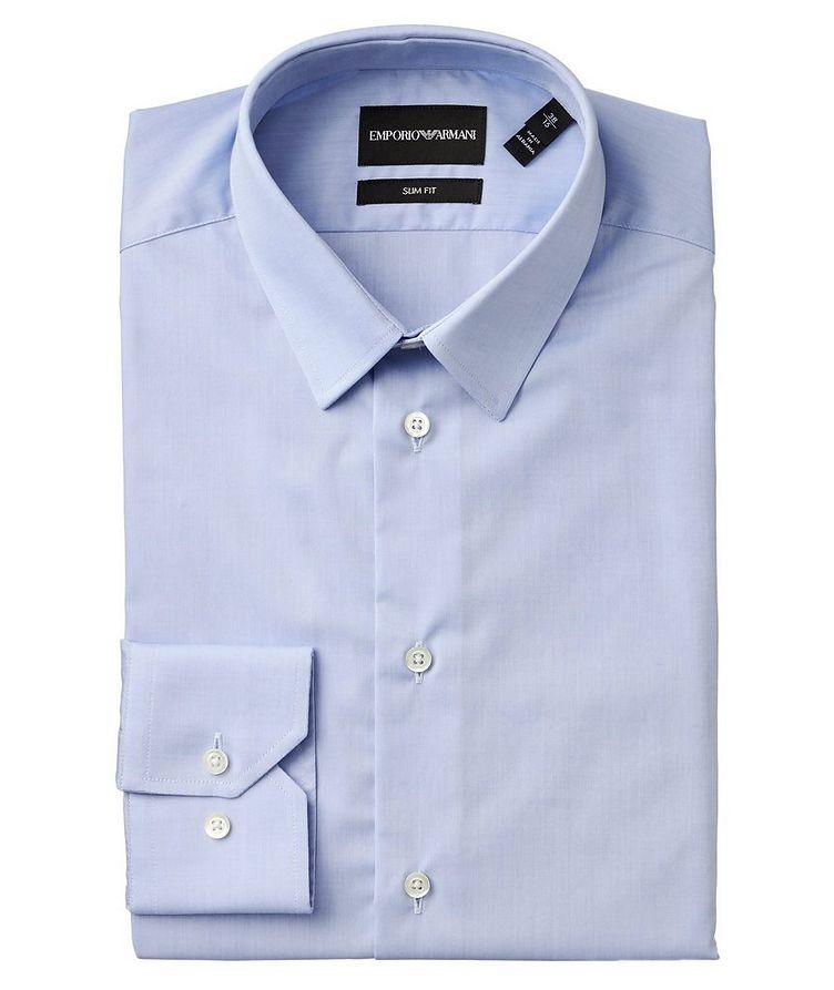 Slim Fit Stretch-Cotton Dress Shirt image 0