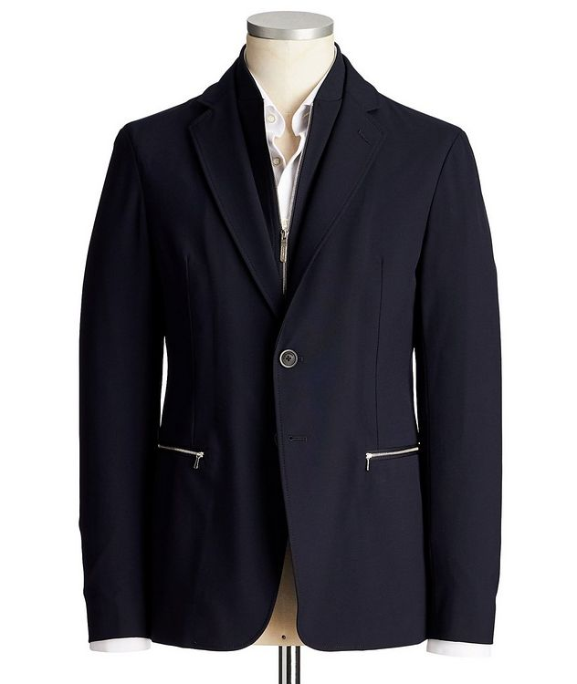 Stretch Jersey Sports Jacket picture 1