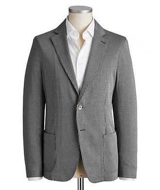 Emporio Armani Unstructured Cotton Sports Jacket