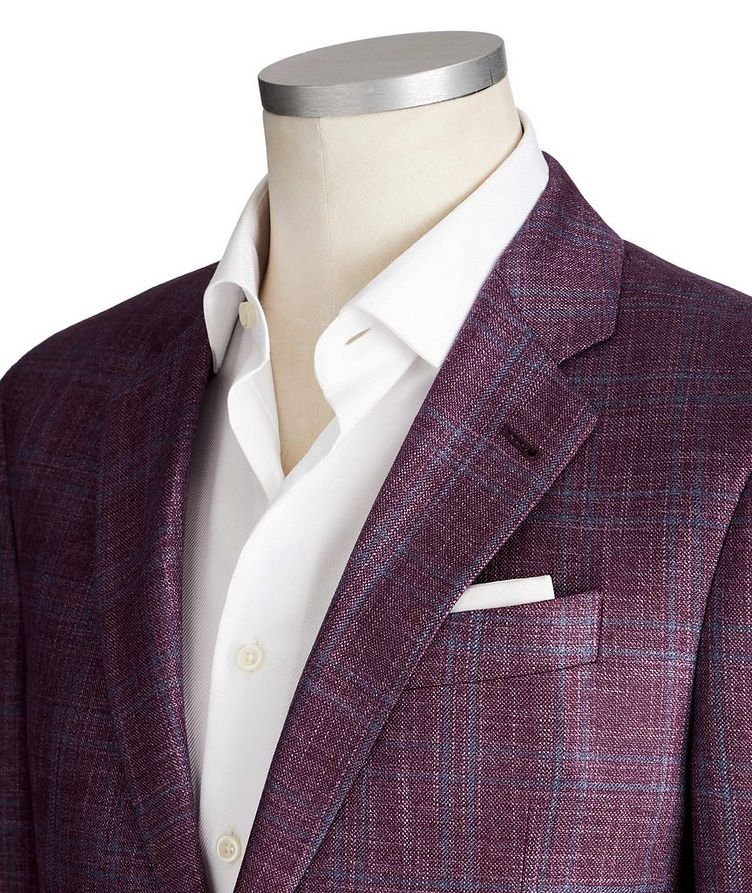 G-Line Deco Checked Sports Jacket image 1