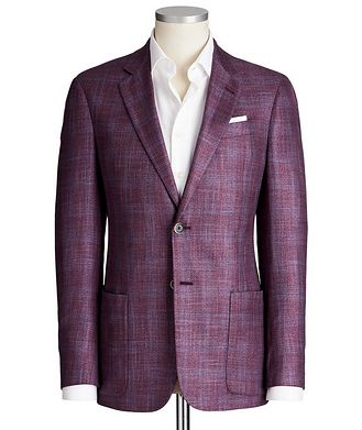 Emporio Armani G-Line Deco Checked Sports Jacket