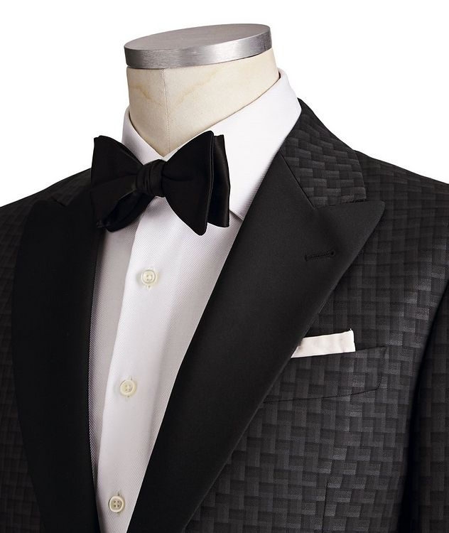 G-Line Wool, Silk & Cashmere Tuxedo Jacket picture 2