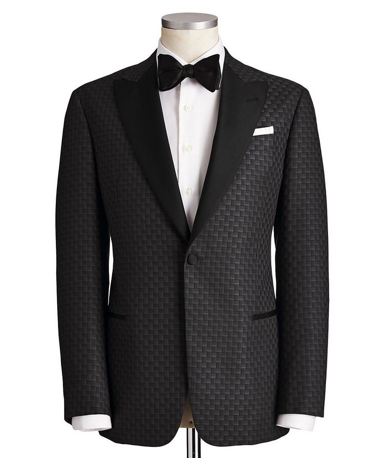 G-Line Wool, Silk & Cashmere Tuxedo Jacket image 0