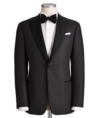 Emporio Armani G-Line Wool, Silk & Cashmere Tuxedo Jacket