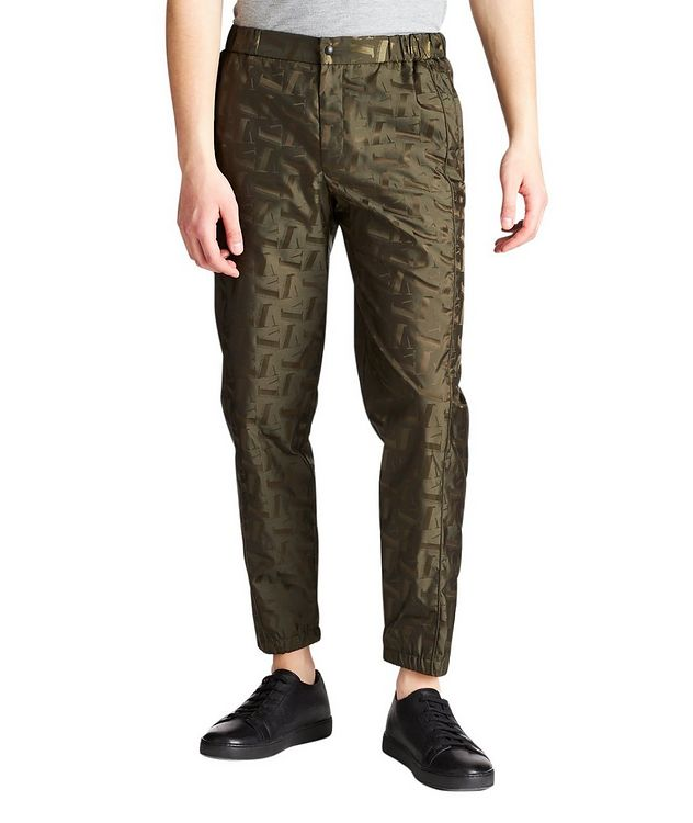 Tonal-Printed Joggers picture 1