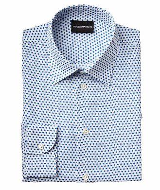 Emporio Armani Printed Linen Shirt