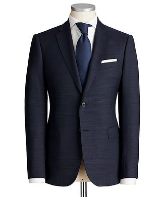 Emporio Armani M-Line Crosshatched Suit