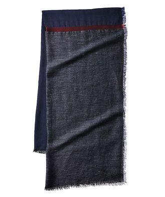 Giorgio Armani Linen, Cotton & Modal Scarf