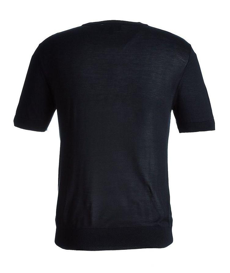 Short-Sleeve Silk Sweater image 1