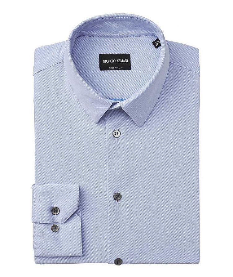 Striped Stretch-Blend Shirt image 0