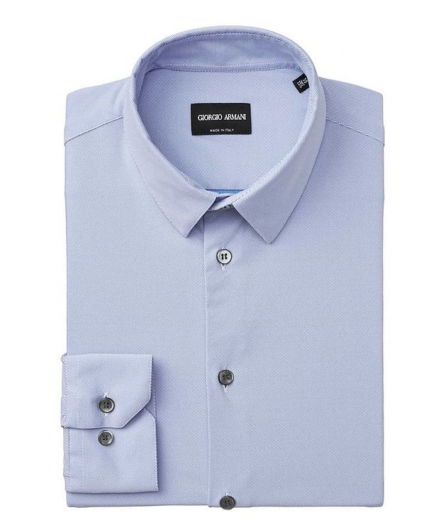 Striped Stretch-Blend Shirt picture 1