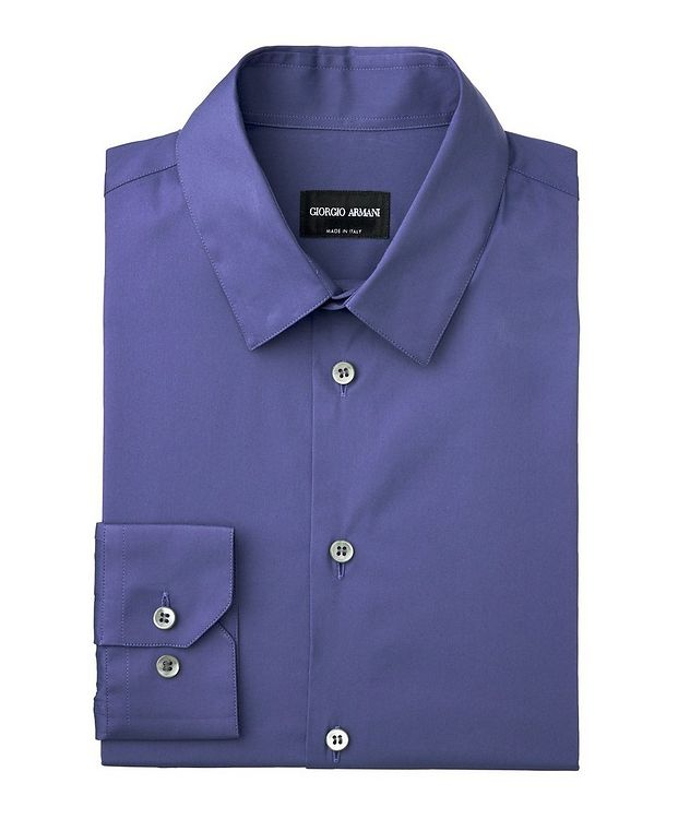Striped Stretch-Cotton Shirt picture 1