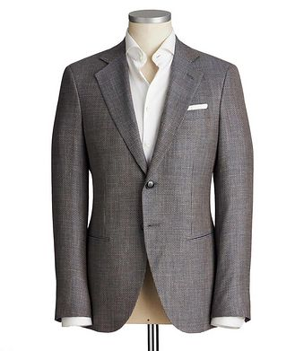 Giorgio Armani George Wool, Silk & Linen Sports Jacket