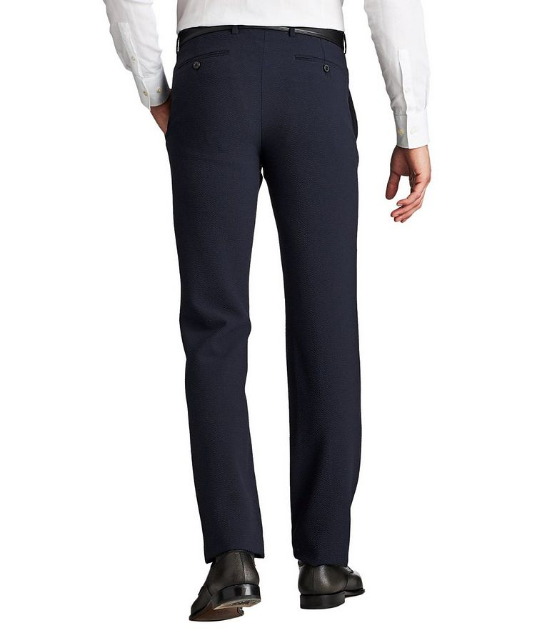 Stretch-Virgin Wool Trousers image 1