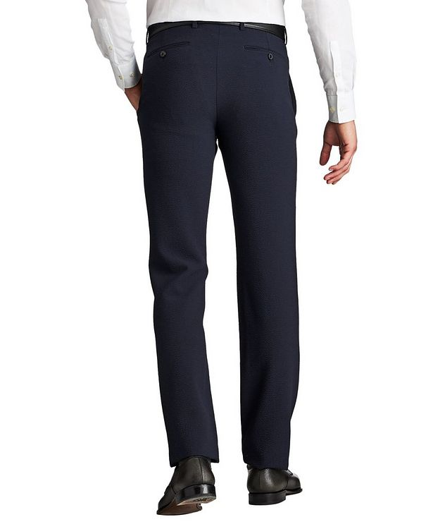 Stretch-Virgin Wool Trousers picture 2