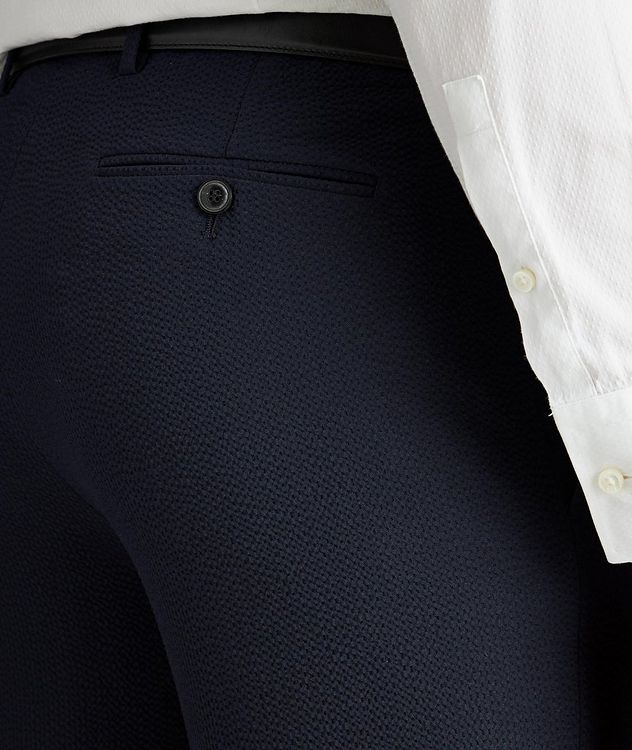 Stretch-Virgin Wool Trousers picture 3