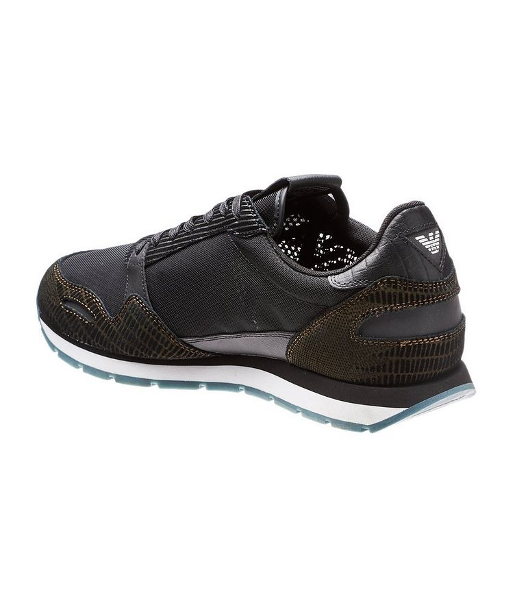 Mesh and Suede Sneakers image 1