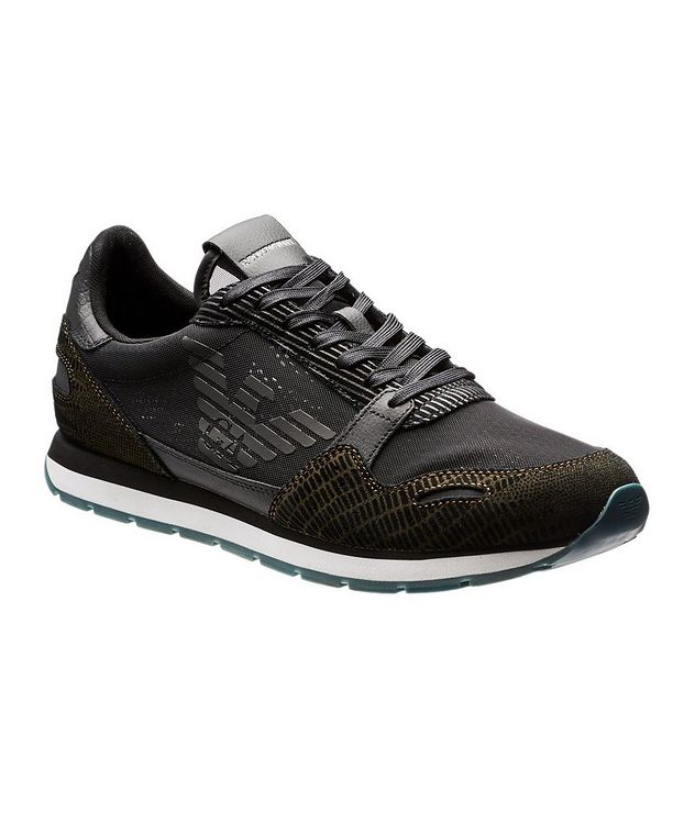 Mesh and Suede Sneakers picture 1