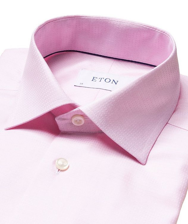 Slim Fit Cotton-Lyocell Dress Shirt picture 2