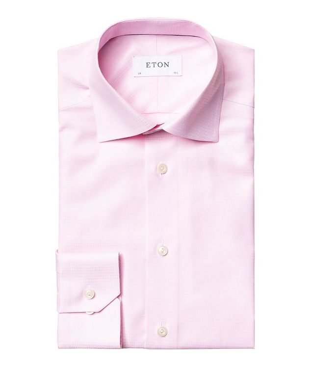 Slim Fit Cotton-Lyocell Dress Shirt picture 1