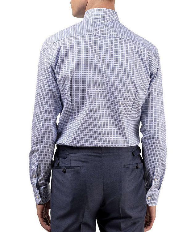 Slim Fit Checkered Dress Shirt picture 3