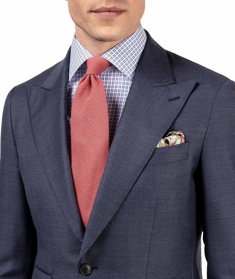 Slim Fit Checkered Dress Shirt image 5