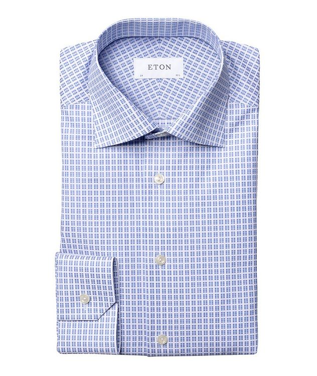 Slim Fit Checkered Dress Shirt picture 1