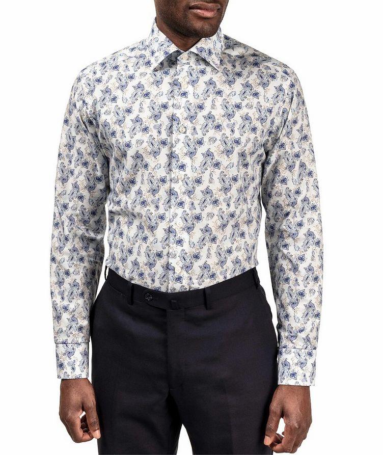 Chemise habillée imprimée de coupe amincie image 1
