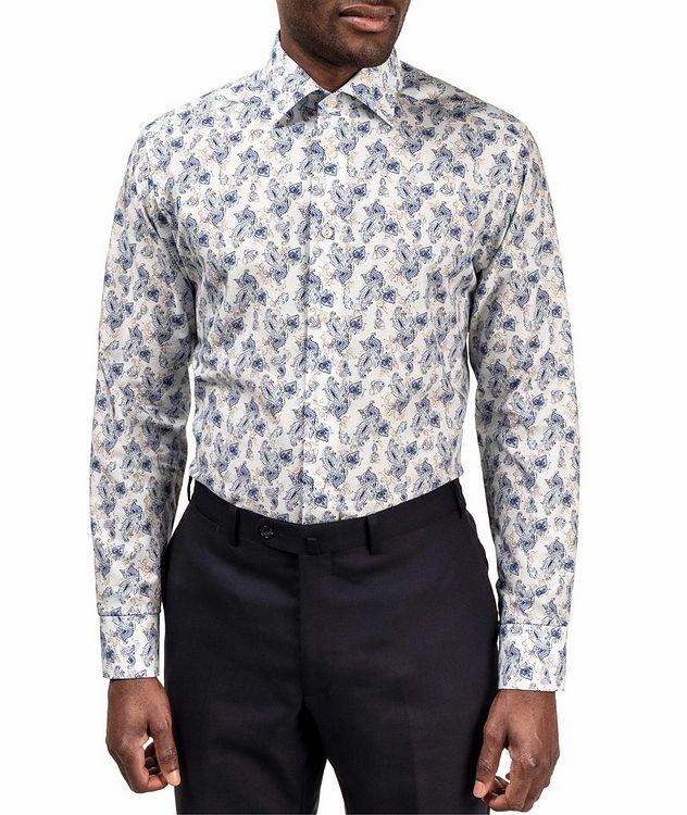 Slim Fit Paisley Dress Shirt picture 2