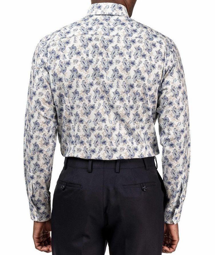 Slim Fit Paisley Dress Shirt image 2