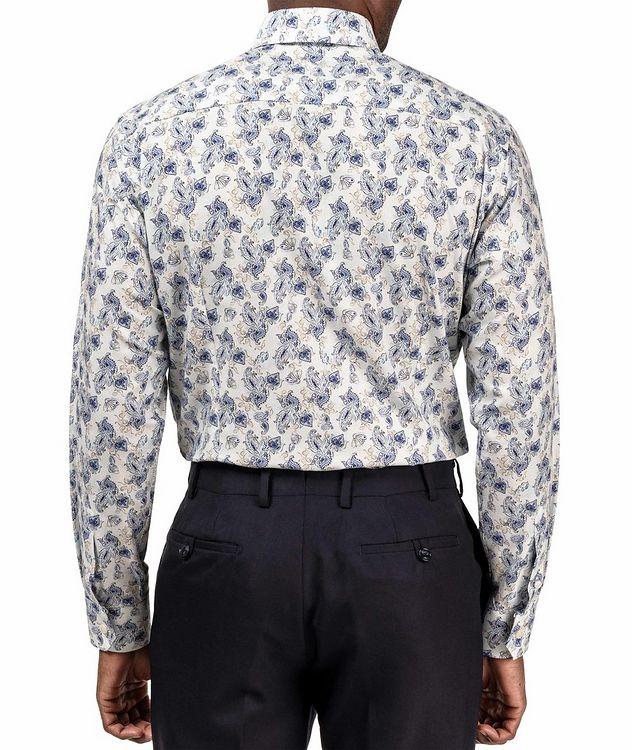 Slim Fit Paisley Dress Shirt picture 3