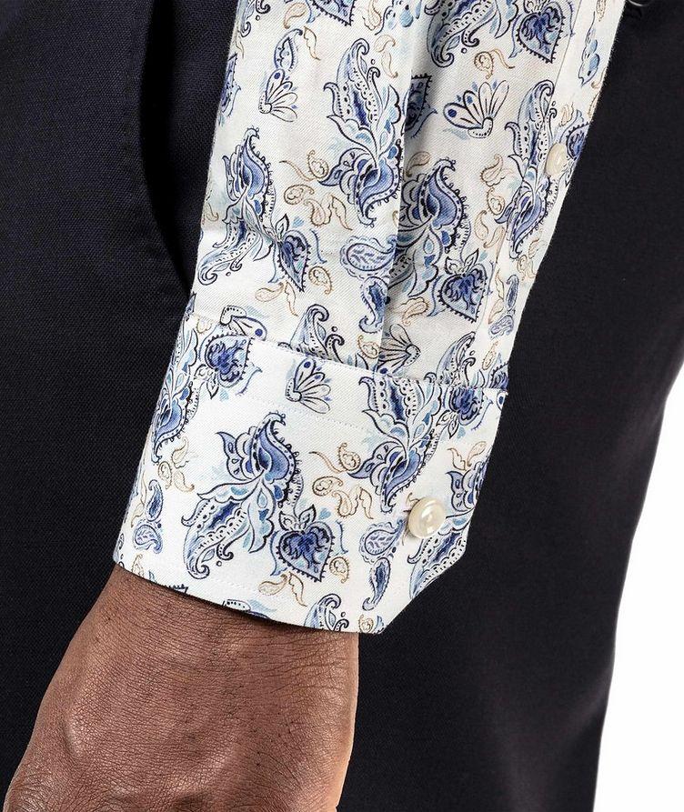 Slim Fit Paisley Dress Shirt image 3