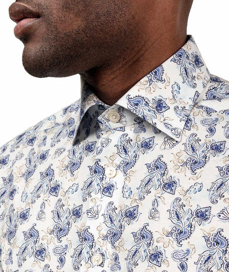 Slim Fit Paisley Dress Shirt image 4