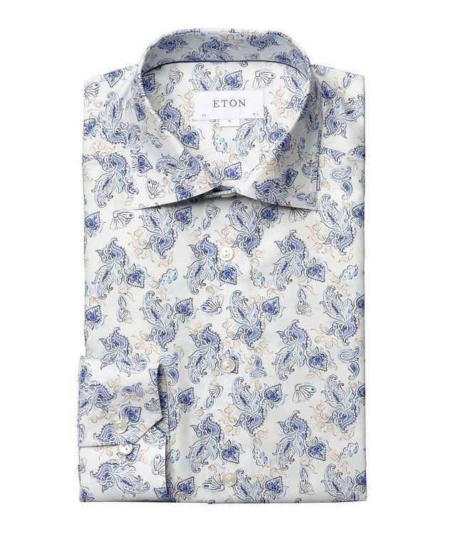 Slim Fit Paisley Dress Shirt picture 1