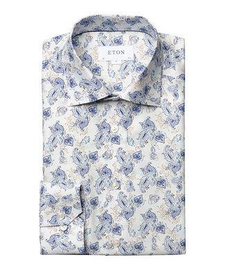 Eton Slim Fit Paisley Dress Shirt