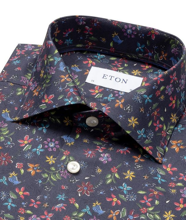 Slim Fit Botanical Dress Shirt picture 2